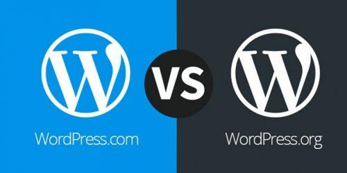 Het verschil tussen WordPress.org en WordPress.com